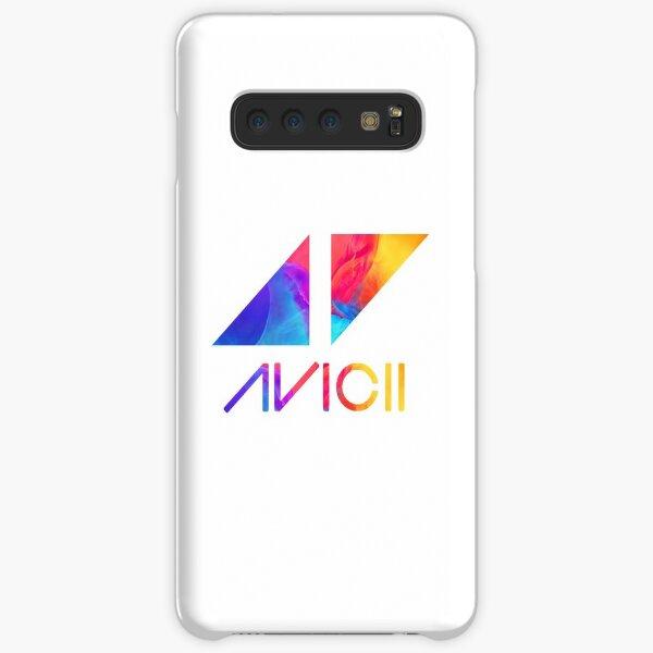 avicii text and logo colorful  Samsung Galaxy Snap Case
