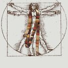 Da Vinci Meets the Doctor (for Light Tshirts) by TerryLightfoot
