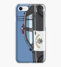 California Highway Patrol Ford Crown Victoria Police Interceptor iPhone Case/Skin