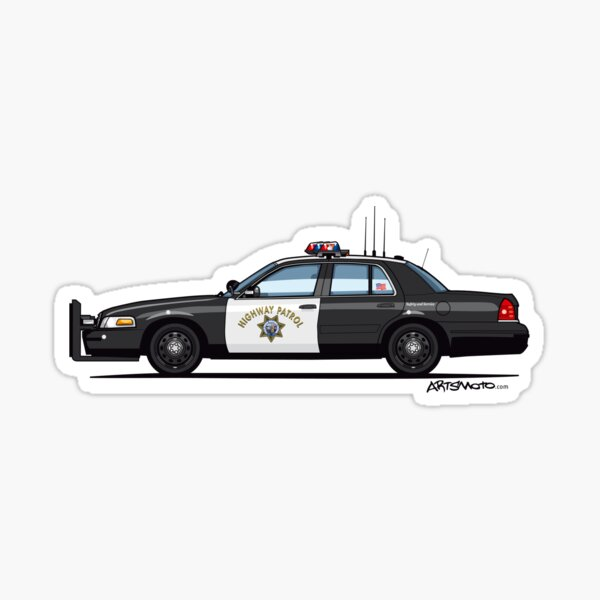 NYPD Police car Decal 6 NYPD Police pop Vinyl Sizes Bumper Banner Sticker Window