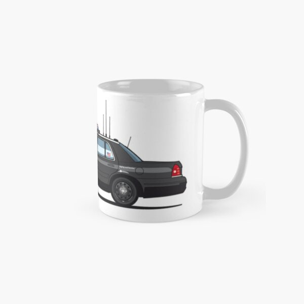 California Highway Patrol Ford Crown Victoria Police Interceptor Classic Mug