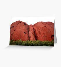 Mighty Uluru Greeting Card