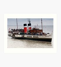 Waverley Paddle Steamer Art Print