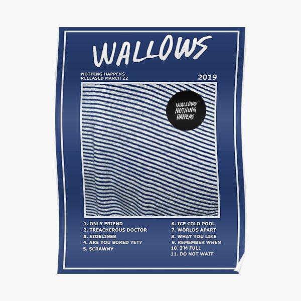 Wallows Rien ne se passe Poster Poster