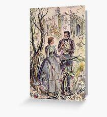 Tarjeta de felicitación Ilustración de Jane Eyre
