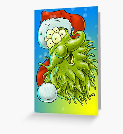 Merry Chrimbleee Greeting Card