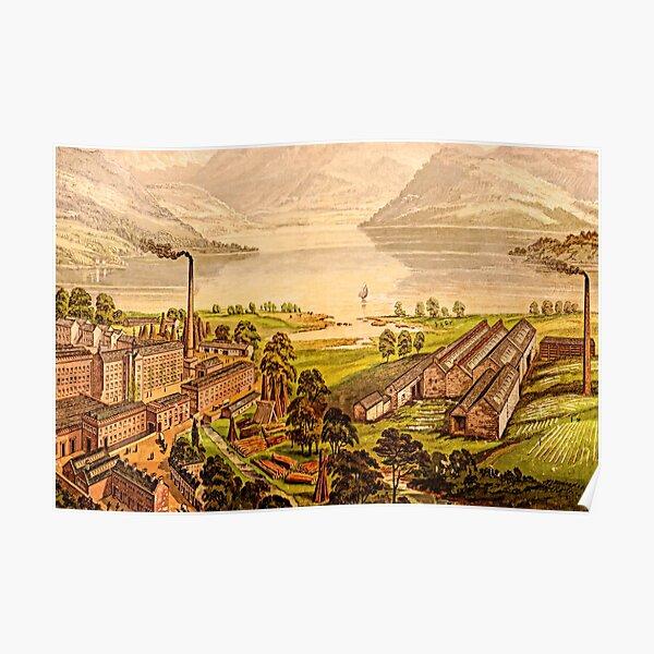 Cleator Flax Mill | Cumbria Poster