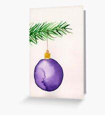 Watercolor card ornament Greeting Card