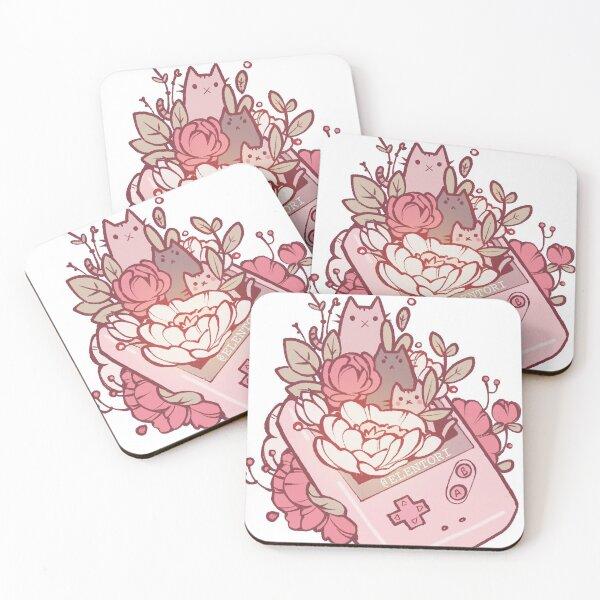 Gamer Kats Coasters (Set of 4)