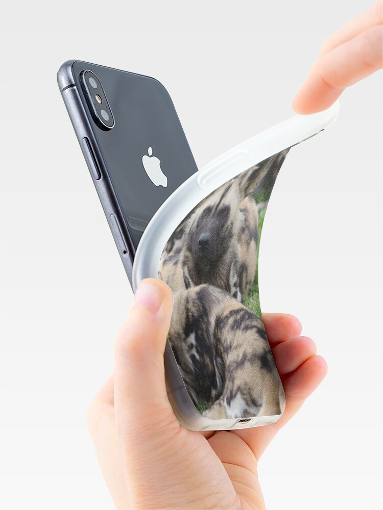 Alternate view of African Painted Dog iPhone case iPhone Case & Cover