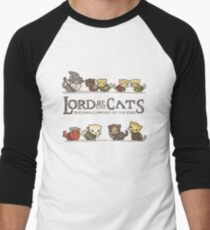 The Furrlowship of the Ring Men's Baseball ¾ T-Shirt