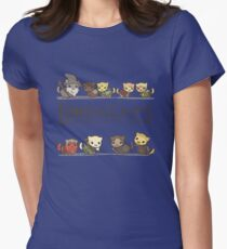 The Furrlowship of the Ring Womens Fitted T-Shirt