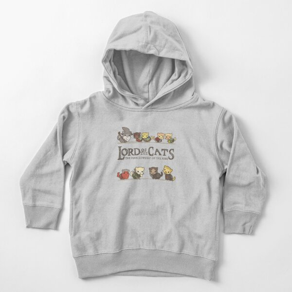 The Furrlowship of the Ring Toddler Pullover Hoodie