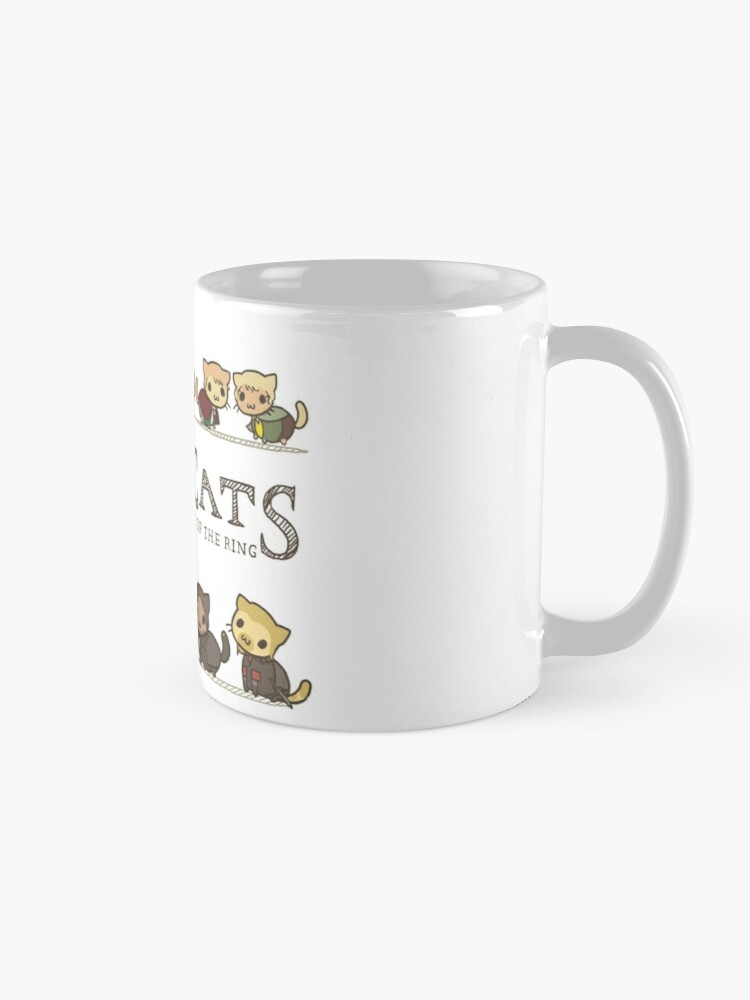 Alternate view of The Furrlowship of the Ring Mug