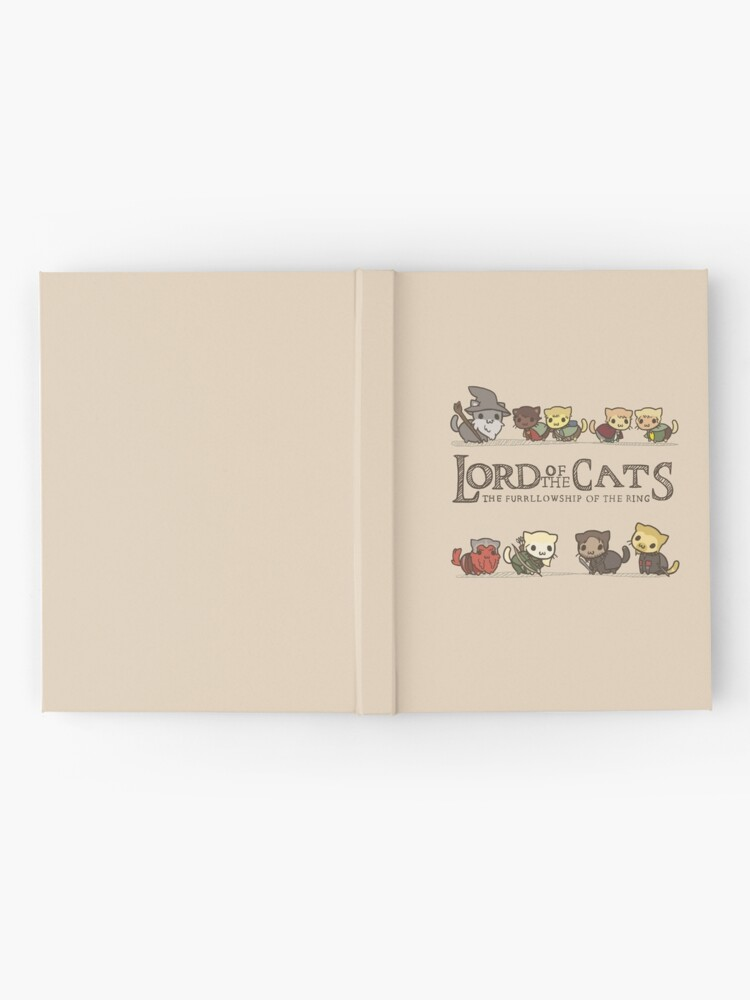 Alternate view of The Furrlowship of the Ring Hardcover Journal