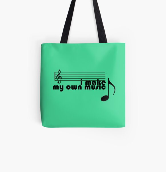 I Make My Own Music All Over Print Tote Bag