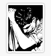 Ian Curtis Sticker