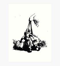 Adolf Oberländer or Oberlander Fliegende Blaetter 73 186 b1 Art Print