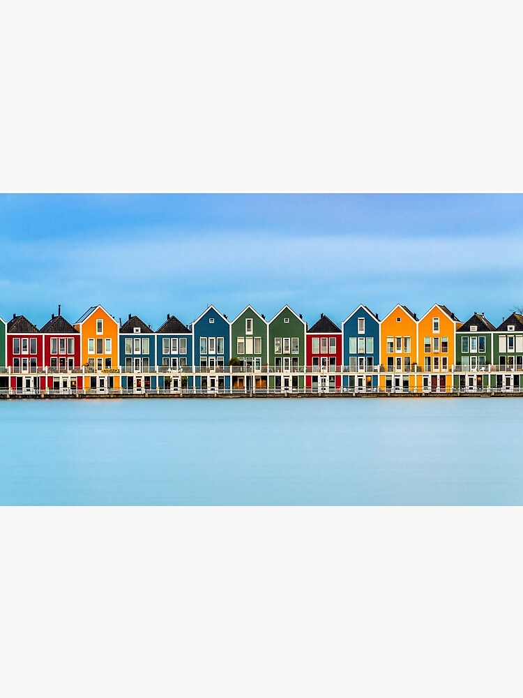 Colorful Dutch Houses by bertbeckers