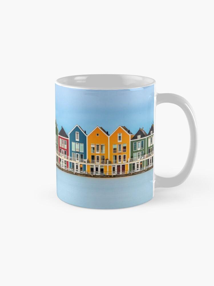 Alternate view of Colorful Dutch Houses Mug