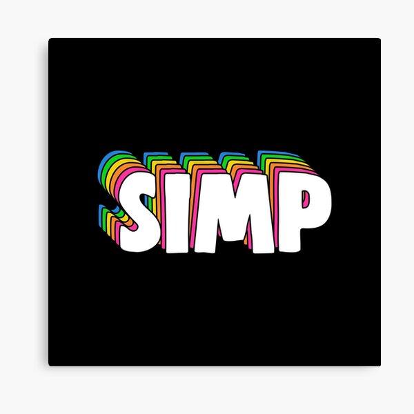 Simp Meme Canvas Print