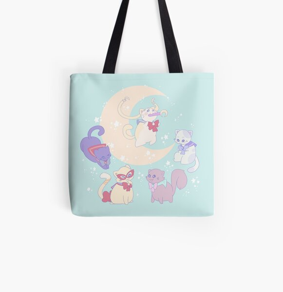 Sailor Mewn All Over Print Tote Bag
