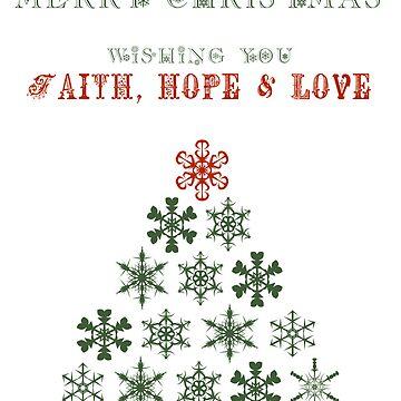 Christmas Faith Hope Love by greenstonetype