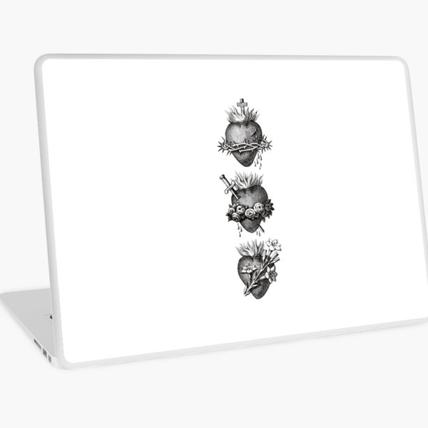 Hearts of the Holy Family Laptop Skin