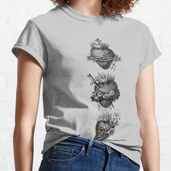 Coeurs de la Sainte Famille T-shirt classique