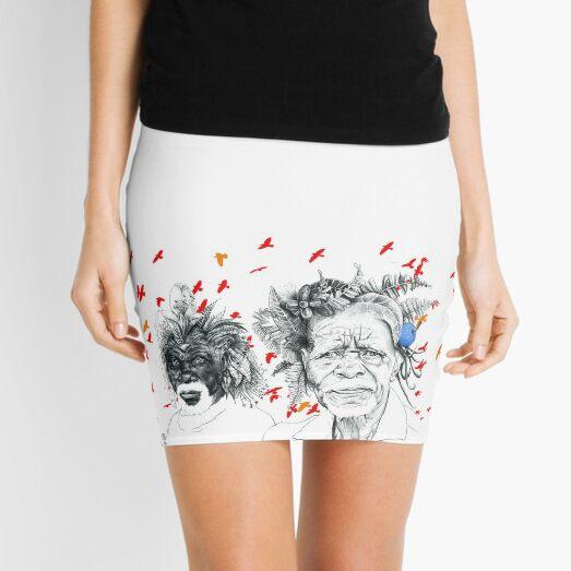 Sunmen with the Birds Mini Skirt