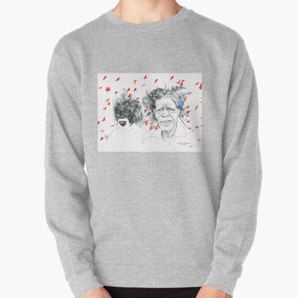 Sunmen with the Birds Pullover Sweatshirt