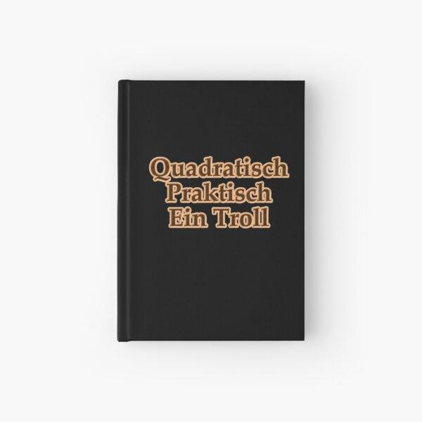 Quadratisch, Praktisch ein Troll Notizbuch