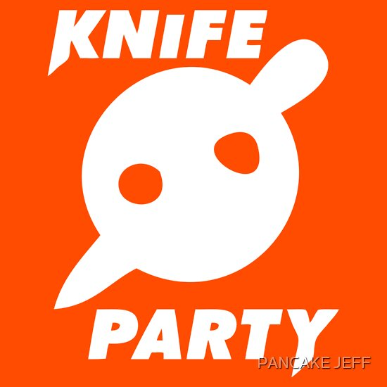 TShirtGifter presents: Knife Party (logo)