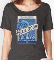 Camiseta ancha para mujer Blue Doom