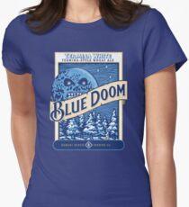 Blue Doom Women's Fitted T-Shirt