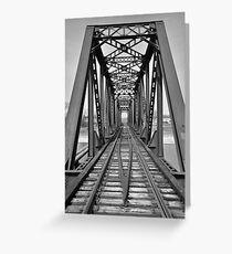 Franklin Ohio railway (further back) 1  Greeting Card