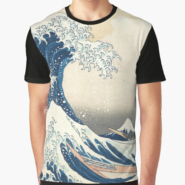 Vague de Kanagawa T-shirt graphique