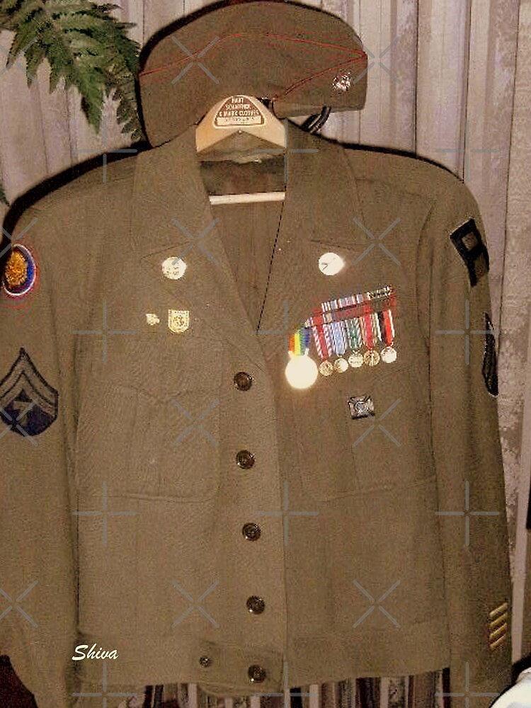 Dad's Uniform by Shiva77