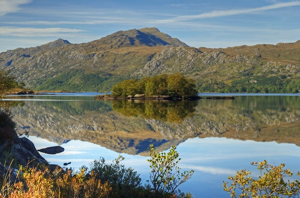 Loch Maree by Jamie  Green
