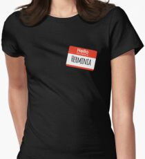 Hello My Name is Herminia Women's Fitted T-Shirt