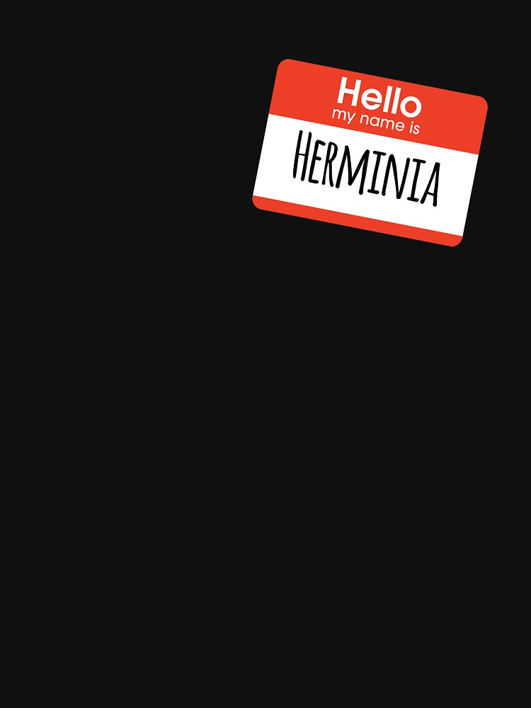 Hello My Name is Herminia by getgoing
