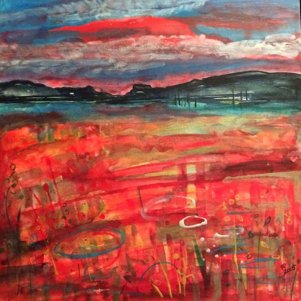 Untitled landscape by Gwendolynart