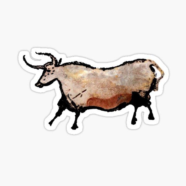 Lascaux Bull Sticker