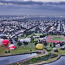 Boarding Balloons in Williamstown by JenniferW