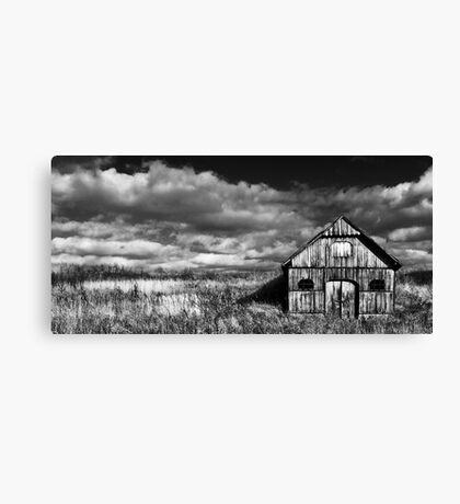 The Old Wooden Wine Cellar Canvas Print