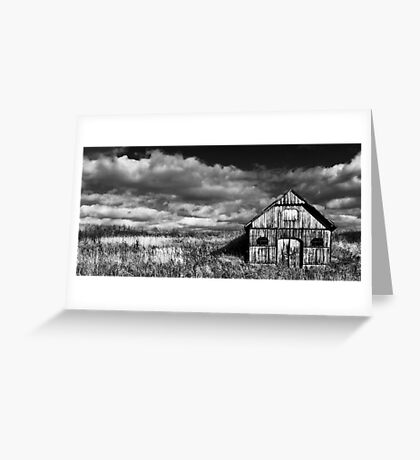 The Old Wooden Wine Cellar Greeting Card