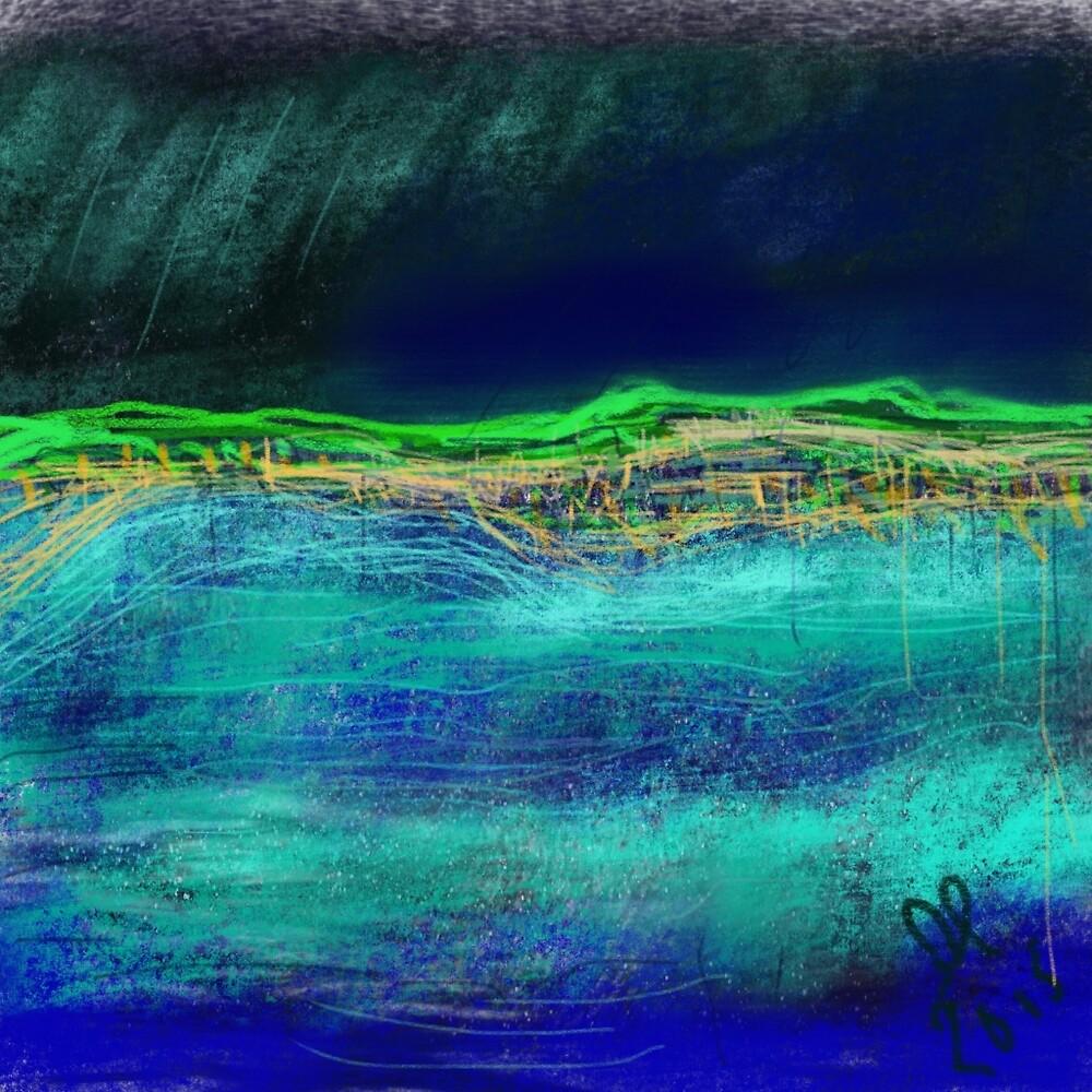 Rocky sea by Gwendolynart