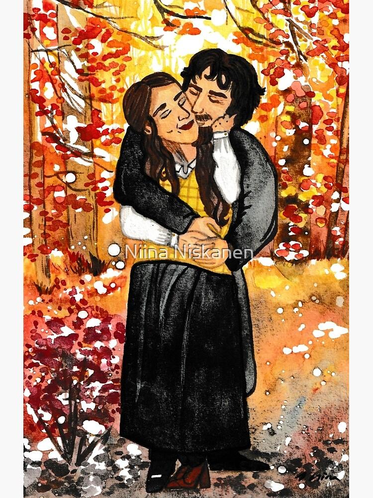 Little Women: Jo and Friedrich Autumn Splendor  by fairychamber