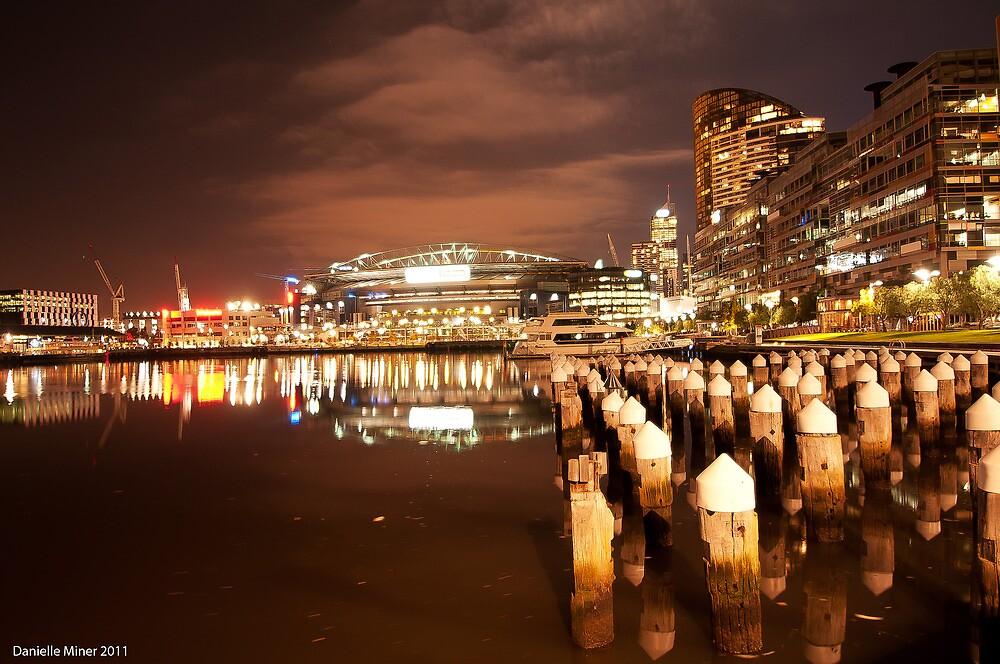 Melbourne Docklands by Danielle  Miner