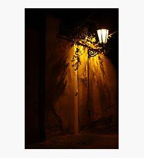 Prague Shadows Photographic Print